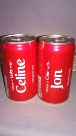 Jon and I share a Coke